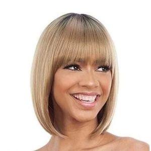 Model Model Human Hair Blend Clair Wig - BB 001